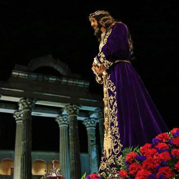 El Cristo de Medinaceli en el Templo de Diana anunciará la Semana Santa 2020