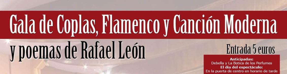 La Cofradía Infantil organiza una Gala de Flamenco, copla y poemas de Rafael de León el 29 de octubre